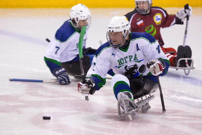 Заключительный этап чемпионата России по следж-хоккею открывается в Алексине