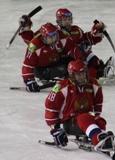 Паралимпийский комитет России поздравляет сборную России по хоккею-следж  , признанную лучшей командой месяца по версии Международного паралимпийского комитета