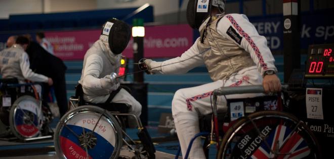 Российские фехтовальщики поспорят за  медали чемпионата мира и квоты на Паралимпийские игры 2016 года