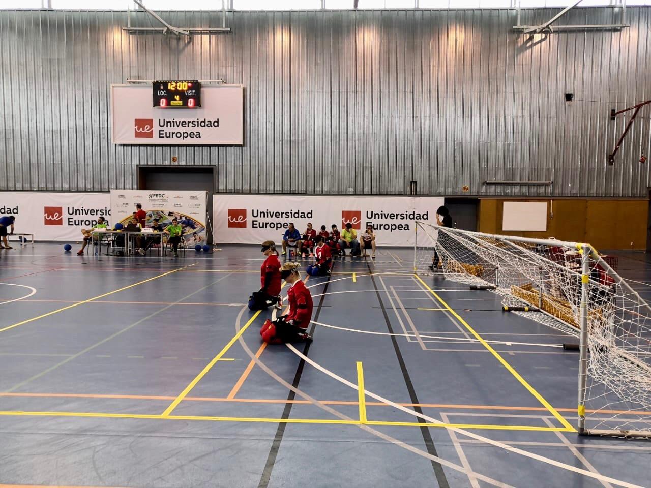 Женская сборная команда России по голболу спорта слепых стала серебряным призером международного турнира в Испании