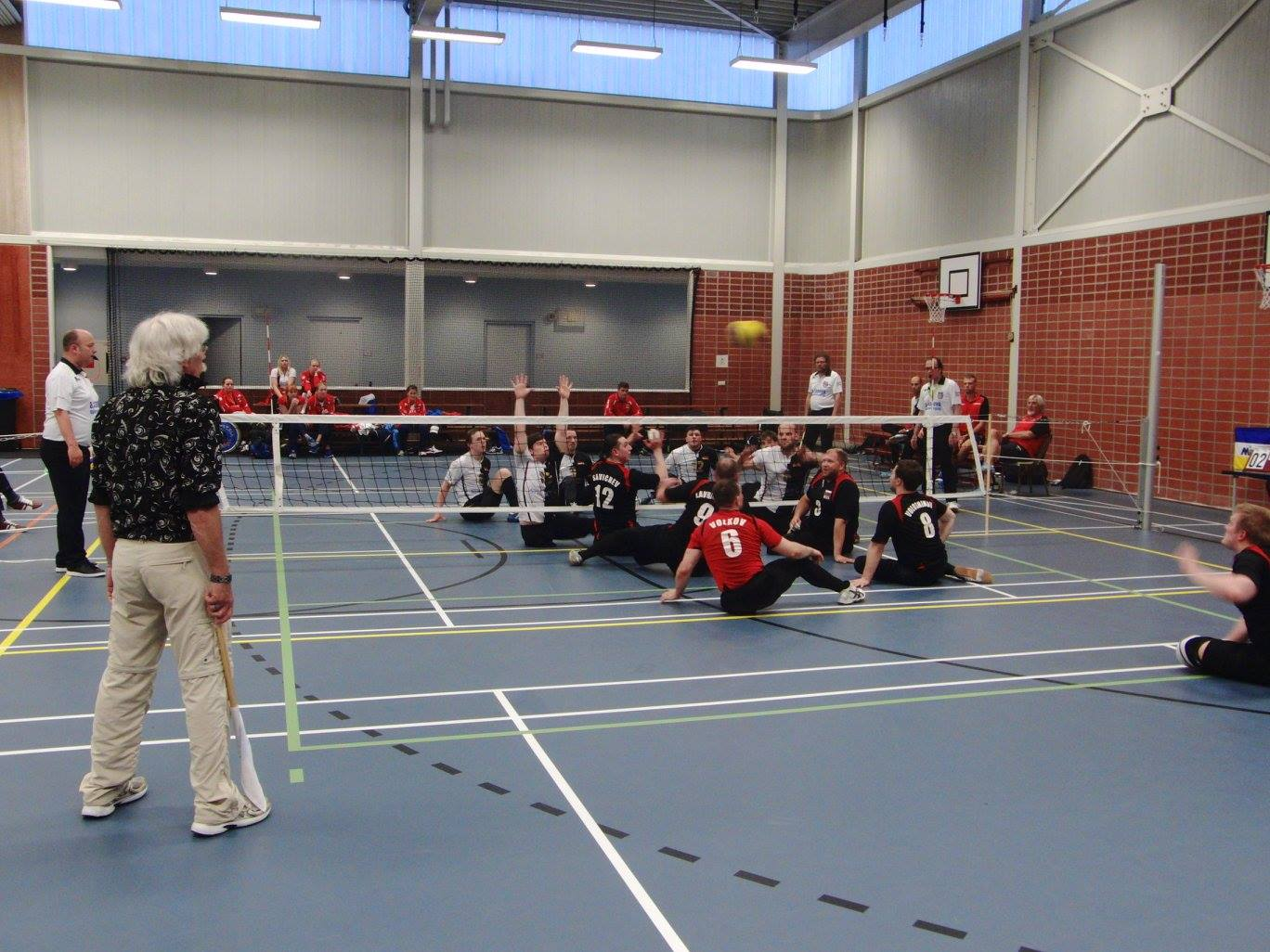 Мужская сборная России стала победителем международного турнира по волейболу сидя в Нидерландах