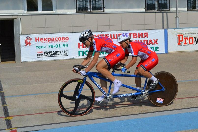 В г. Туле завершился Кубок России по велоспорту-тандем (трек) среди лиц с нарушением зрения