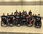 Russian National Rugby on wheelchairs Team is competing for medals in Switzerland