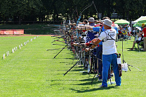 The national team of Russia in Para -Archery takes part in the European Championships in the Czech Republic