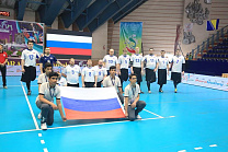 Russian National Men's Sitting Volleyball Team won silver medals at the international tournament World Super 6 in Iran