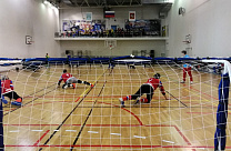 "IN THE RAMENSKY PALACE OF SPORT ""BORISOGLEBSKY"" THE GAMES OF RUSSIAN GOALBALL CHAMPIONSHIP AMONG VI ATHLETES HAVE BEEN HELD"