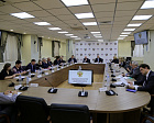 AT AUDITORIOUM HALL OF THE RPC GOVERNING BOARD,  MEETING OF THE ITERAGENCY COMMISSION  FOR DEVELOPMENT OF ADOPTIVE PHYSICAL CULTURE AND SPORTS OF THE COUNCIL OF THE PRESIDENT OF THE RUSSIAN FEDERATION WAS CHAIRED BY THE PRESIDENT OF THE RPC VLADIMIR LUKIN