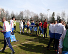 "RPC jointly with Russia's National team on football 7x7 in sport center ""Novogorsk"" held a Paralympic Lesson for students of the Russian Economic University named after Plekhanova"