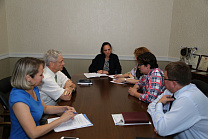 PAVEL ROZHKOV HAD A WORKING MEETING IN THE RPC OFFICES WITH SVETLANA GERASIMOVA, THE PRESIDENT OF THE INTERNATIONAL ASSOCIATION OF CHESS FOR PERSONS WITH PHYSICAL IMPAIRMENTS (IPCA) AND HEAD COACH OF THE RUSSIAN NATIONAL CHESS AND DRAUGHTS TEAM FOR PERSON