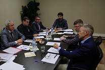 Pavel Rozhkov met with independent anti-doping Expert Peter Nicholson.