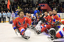 "A series of friendly matches between the National team of South Korea and the Para Ice Hockey Club ""Phoenix"""