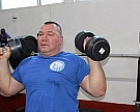 #trainingtogether with the repeated winner and prize winner of the Russian championships and the international competitions in Para Powerlifting among PI Athletes Konstantin Matsnev