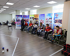 All Russian National Games for Students with physical impairments was held in the Sports hall of the Russian Paralympic Committee Headquarters  on 30 November -01 December 2016