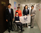 Vladimir Lukin and Pavel Rozhkov met with the delegation of the Japan's Cabinet Council representatives in the Russian Paralympic Committee office