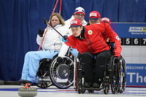 Wheelchair Curling Day 2: Russia lost Norway