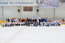 LEV SELEZNEV IN IZHEVSK PARTICIPATED IN THE AWARDS AND CLOSING CEREMONY OF THE ALL-RUSSIAN TOURNAMENT ON SLEDGE HOCKEY, DEDICATED TO THE MEMORY OF VICTOR KUZNETSOV