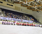 "The opening ceremony of the Sledge Hockey Tournament ""Cup of Courage"" was held in the ice arena of the Yantar Sports Palace"