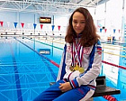 #trainingtogether with two time bronze medalist of the World championship 2019 in Para Swimming among PI Athletes Victoriya Ishiulova