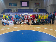 Winners of the Russian Juniour Championship at the goal ball