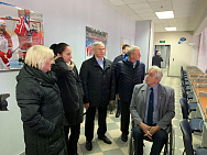Pavel Rozhkov, the IWAS President Rudi van den Abbeele, the EPC President Ratko Kovacic and the IWAS Chief Executive Officer Charmaine Hooper visited sports facilities in Podolsk city (Moscow region).