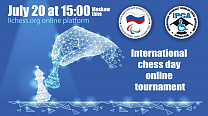 The Russian Paralympic Committee and the International Physically Disabled Chess Association organize an Online Chess Tournament dedicated to the International Chess Day.