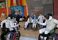Athletes of the Novosibirsk Region have won the greatest number of medals at the Wheelchair Fencing Cup of Russia