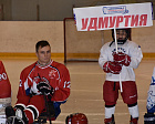 ANDREY STROKIN AND LEV SELEZNEV IN IZHEVSK PARTICIPATED AT THE OPENING CEREMONY AND ATTENDED THE COMPETITIONS OF THE ALL-RUSSIAN HOCKEY-SLEDGE TOURNAMENT DEDICATED TO THE MEMORY OF RUSSIAN ATHLETE VICTOR KUZNETSOV