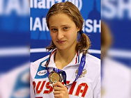#trainingtogether with tree time winner, two time silver and bronze medalist of the World championships 2019 in Para Swimming among II Athletes Valeriya Shabalina