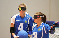 Russian Women Goalball team has qualified to quarterfinal after four victories at the group stage