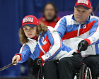 Russian Wheelchair Curling team started with two wins at the 1st day of World Championships