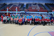RPC  TOGETHER WITH THE BELGOROD FEDERATION OF ADAPTIVE SPORTS IN THE CITY OF BELGOROD (BELGOROD REGION)  HOLD THE PARALIMPIAN LESSON