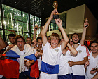 THE NATIONAL RUSSIAN FOOTBALL TEAM 7X7 FOR PERSONS WITH CEREBRAL PALSY FOR THE FIRST TIME WON THE TITLE OF THE EUROPEAN CHAMPION, DEFEATD AT FINAL MATCH THE UKRAINIAN NATIONAL TEAM