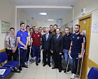 Pavel Rozhkov met with the Russian National Amputee Football Team.