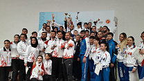 THE RUSSIAN NATIONAL PARA-TAEKWONDO TEAM WON THE OVERALL -TEAM STANDING DURING THE EUROPEAN CHAMPIONSHIP IN BULGARIA.