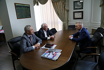 RPC President Vladimir Lukin met with independent anti-doping Expert Peter Nicholson
