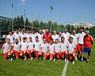Pavel Rozhkov and Pavel Kolobkov met with the Russian Football Team with cerebral paralysis right before the World Championships.