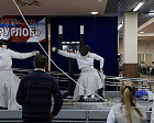 "Pavel Rozhkov, Andrey Strokin at the sports and training base of Russia's Ministry of Sport ""Ozero Krugloe"" (Moscow Region) took part in the opening ceremony of the opening of the Russian Wheelchair Fencing Competitions"