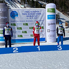 THE RUSSIAN NATIONAL TEAM WON 2 GOLD, 2 SILVER AND 4 BRONZE MEDALS ON THE FIRST DAY OF THE WORLD CUP IN PARALYMPIC CROSS-COUNTRY SKIING AND BIATHLON IN SLOVENIA