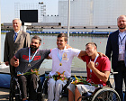 "On the Olympic rowing channel ""Krylatskoe"" competitions took place within the framework of the Cup of the President of the Russian Federation for kayak and canoe"