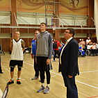 Andrey Strokin and Andrey Kirilenko opened the Russian Wheelchair Basketball Championship in Paramonovo