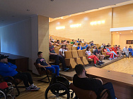 "THE RUSSIAN PARALYMPIC COMMITTEE CONDUCTED A SEMINAR IN THE SPORTS COMPLEX OF THE MINISTRY OF SPORTS ""NOVOGORSK"" ON THE SUBJECT OF OUR WHEREABOUTS IN THE ""ADAMS"" SYSTEM"