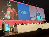 Vladimir Lukin and Pavel Rozhkov attended the IPC General Assembly in Bonn