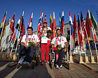 THE RUSSIAN NATION ORIENTEERING TEAM WON THE BRONZE MEDAL IN WORLD CHAMPIONS IN LATVIA