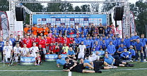THE RUSSIAN NATIONAL AMPUTEE FOOTBALL TEAM WON THE 2 PLACE IN THE WORLD CUP IN POLAND