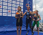 Russian triathletes won silver and bronze medals at the World Championship in Switzerland