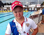 #trainingtogether with the European champion in Para Swimming among athletes with Down's syndrome Natalya Nikolaeva