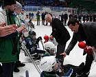 "PAVEL ROZHKOV TAKES PART IN THE REWARDING AND CLOSING CEREMONY OF THE OPEN INTERNATIONAL SLEDGE HOCKEY TOURNAMENT ""UGRA CUP"""