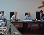 Pavel Rozhkov, 1st Vice-President of Russian NPC, IWAS Vice-President and Vladimir Malits, Deputy Chief of the Department of Physical Culture and Mass Sport development of the Ministry of Sport of Russia conducted the meeting on the results of site inspec