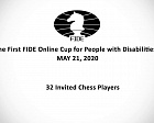 Three russian chess players will take part in the first online FIDE Cup among athletes with disabilities