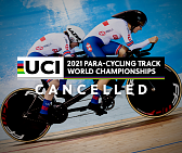Cancellation of 2021 UCI Para-cycling Track World Championships in Rio de Janeiro